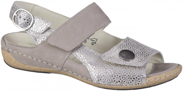 15.44.117 WALDLÄUFER Heliett 25 Comfort-Sandale platin/beige