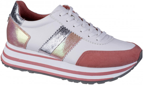 12.44.153 TAMARIS Trend Sneaker white/orange