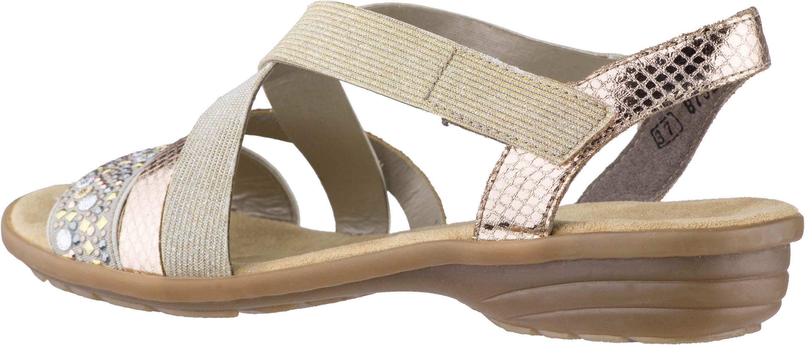 RIEKER Sandale beigekupferlightgold | SPOHR SCHUHE 0C5ZH
