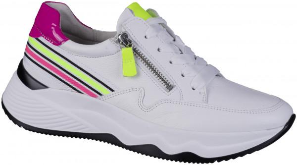 12.44.272 GABOR Sneaker weiss/neon-kombi