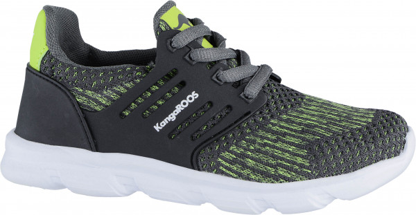 42.40.125 KANGAROOS Draga Kids Sneaker steel grey/lime