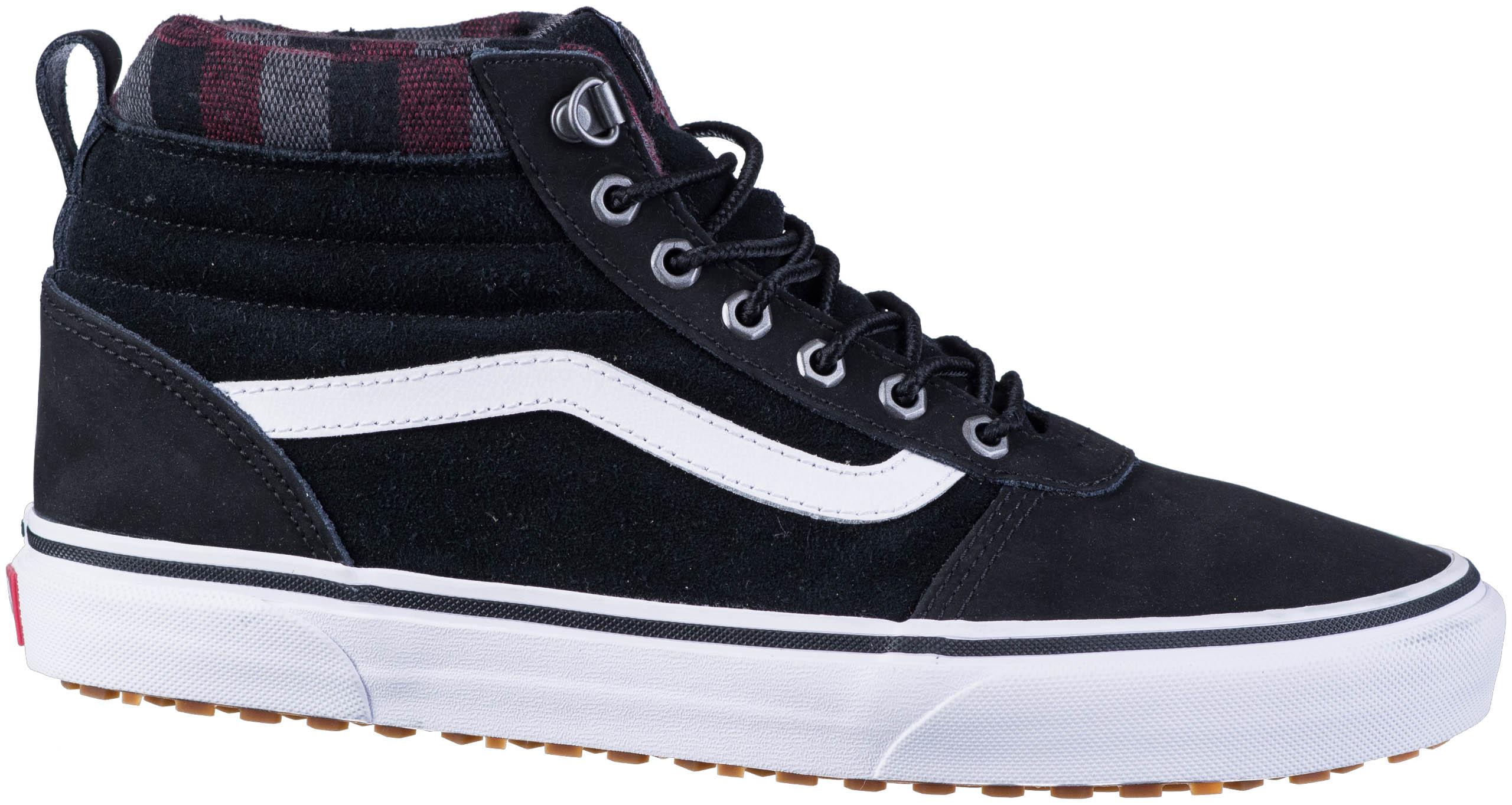 VANS Ward Hi MTE Sneaker blackplaid