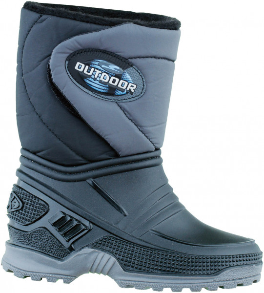 45.35.111 BECK Outdoor Moonboot schwarz-grau