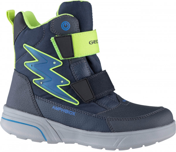 37.41.119 GEOX Stiefel navy/lime