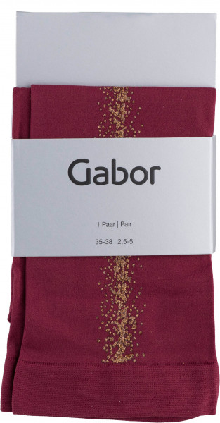 65.41.115 GABOR Lady Fashion Socks rubin