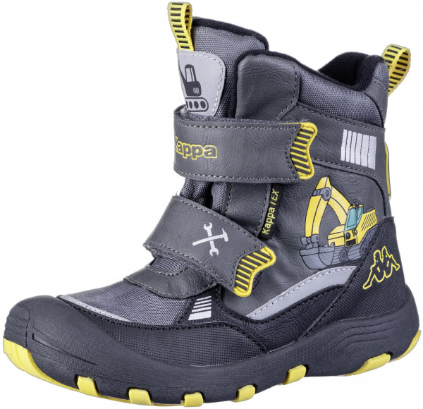 37.43.156 KAPPA Road Tex Stiefel grey/yellow