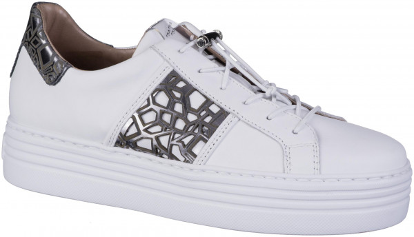 12.44.122 MJUS Sneaker bianco/inox