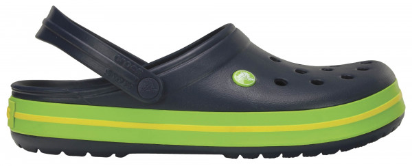 43.38.110 CROCS TM SHOES Crocband Clog navy/volt green/lemon