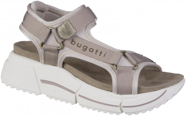 14.44.270 BUGATTI woman Plateausandale mid-brown/sand