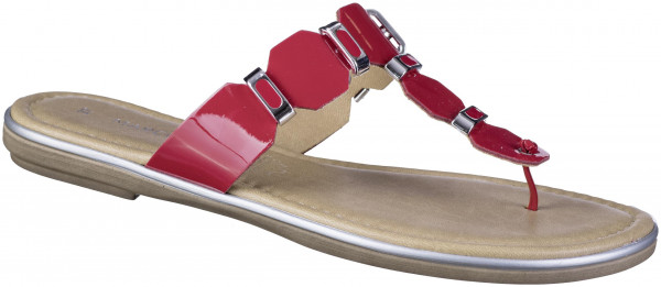 14.44.113 MARCO TOZZI Zehentrenner red patent